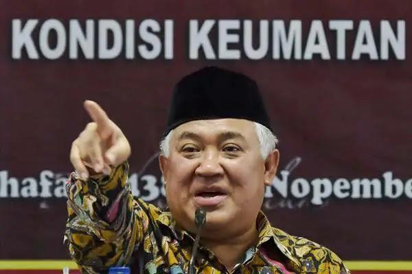Beredar kabar bahwa Prof. Dr. Drs. K.H. Muhammad Sirajuddin Syamsuddin, M.A dilaporkan atas tuduhan radikal.