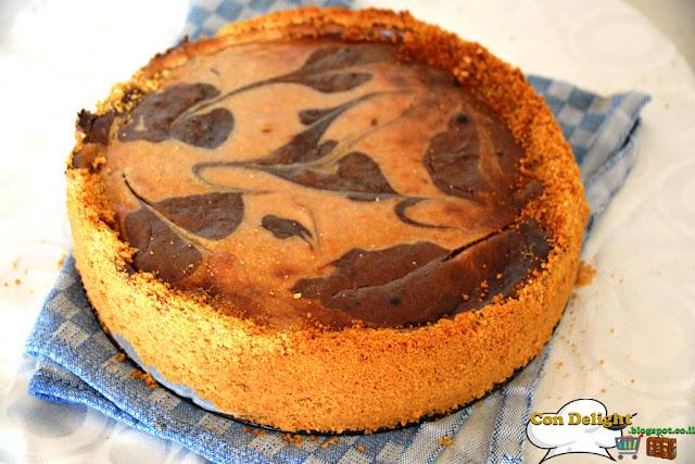 chocolate cheesecake עוגת שוקולד גבינה