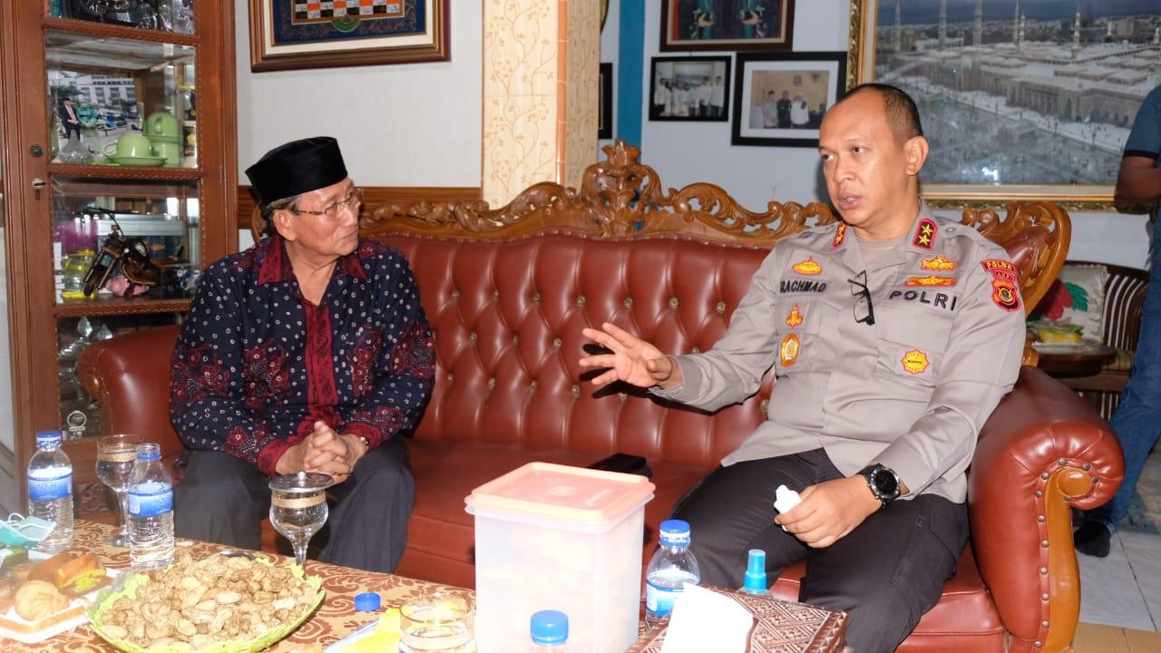 Kapolda Jambi Silaturahmi Bersama Tokoh Masyarakat Jambi