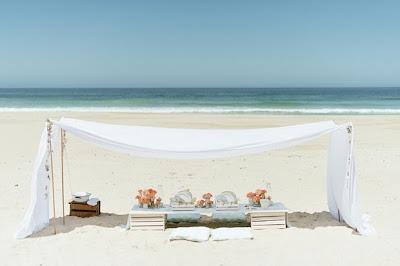 Picnic Romántico en la Playa.