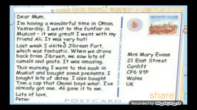 What to write on a postcard to your boyfriend