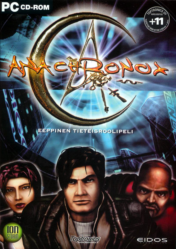Anachronox Download Cover Free Game