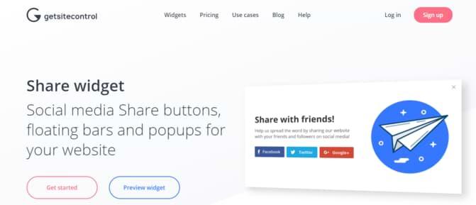 Social Share Buttons Terbaik Untuk Blogger