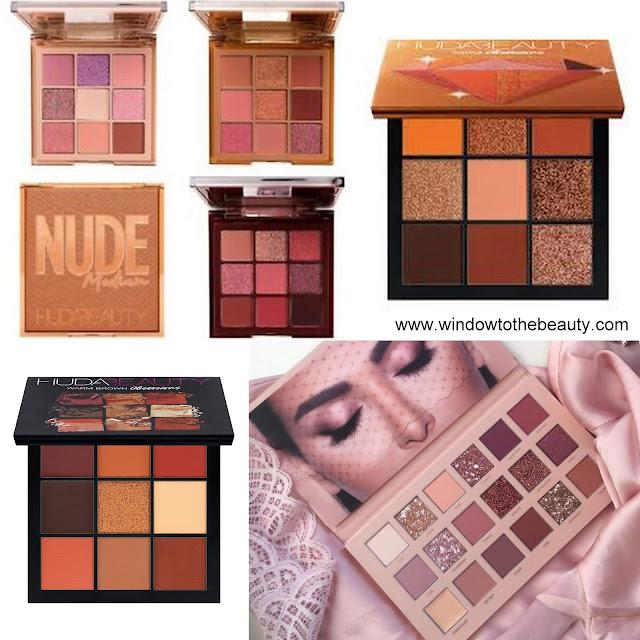 Huda Beauty neutralne brązowe palety