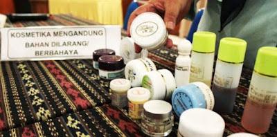 Merek Kosmetik Berbahaya Terbaru dari BPOM
