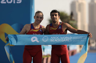 WORLD BEACH GAMES 2019 - España la mejor selección con un total de 10 medallas, 7 de oro