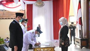 Sah!!! Dawam Dan Azwar Hadi Pimpin Lampung Timur