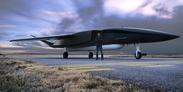 الطائرة بدون طيار Ravn X