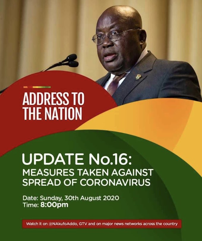COVID-19: Kotoka International Airport will reopen and resume operations from Tuesday, 1st September - President Akufo-Addo