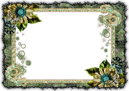 Beautiful Wallpapers for Desktop: Photoshop Frames ...