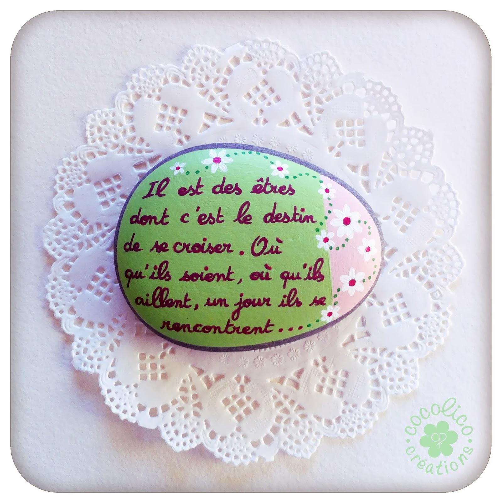 Cocolico creations les cr ations en vente for Ou acheter des galets decoratifs