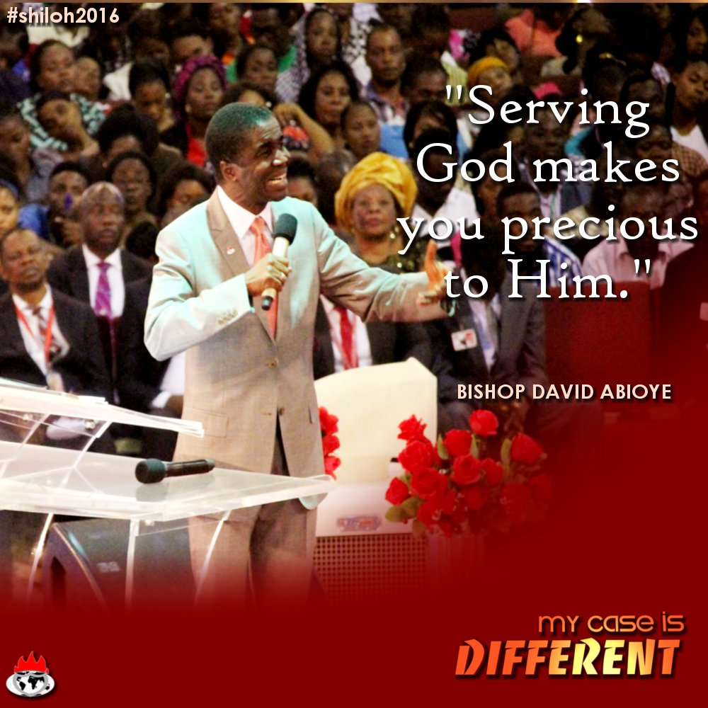 Pictures Of David Abioye Jet: 7 Picture Quotes During Shiloh 2016 You Must Not Miss