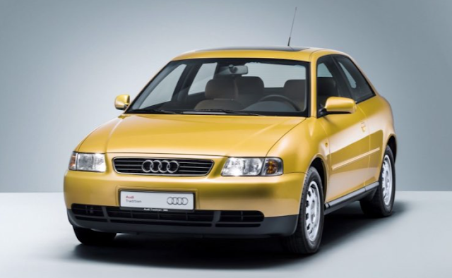 Evolution of Audi from past