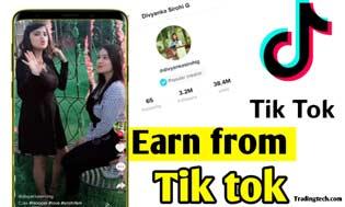 tiktok app se paise kaise kamaye, tiktok money earning