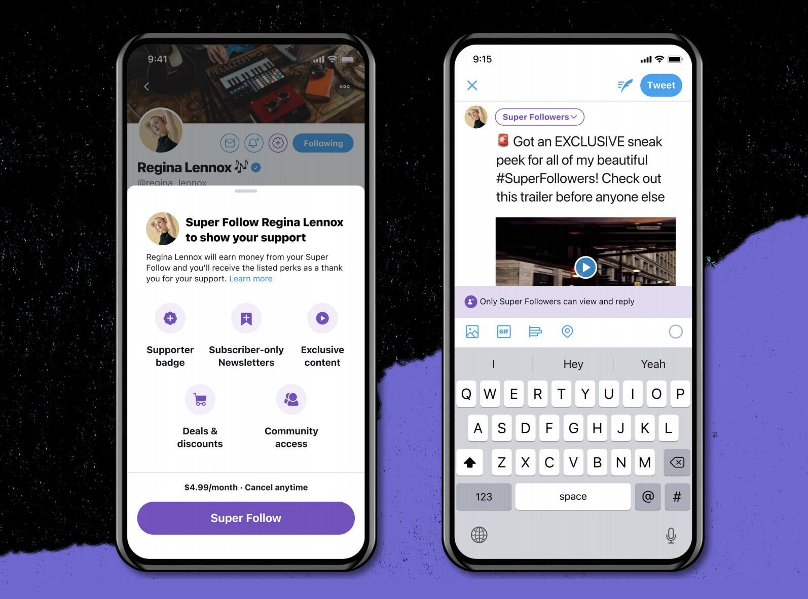Twitter announced a Super Follow Subscription feature, from which creators can charge for exclusive tweets