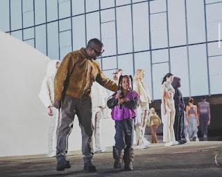 Kanye West proved that he shares a special bond with daughter North West