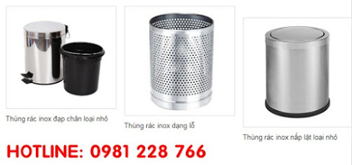 thùng rác inox giá rẻ