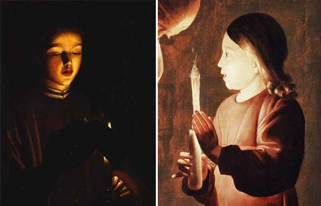 pinturas Georges de La Tour
