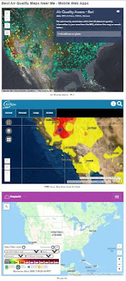 best air quality mobile web apps