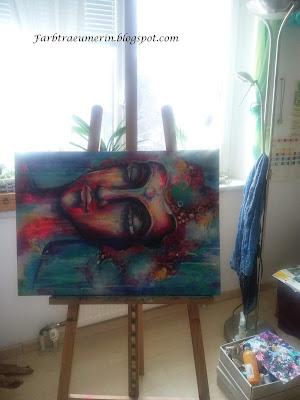 Original-Gemälde-kaufen-Buddha-Auftragsarbeiten-Mixed-Media-Buddha-Painting