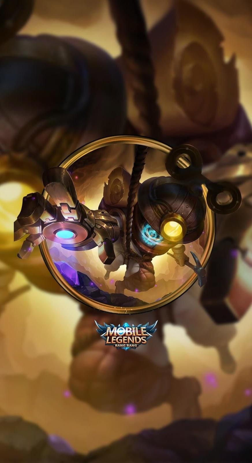 Wallpaper Cyclops Super Adventurer Skin Mobile Legends HD for Mobile