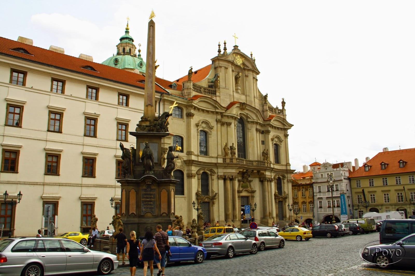 Iglesia de San Nicolas en Mala Strana, Praga