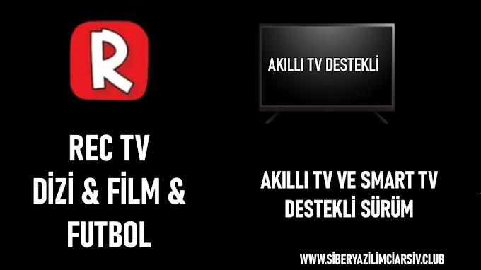 Rec Tv Apk | Akıllı Tv & TV Box Sürümü