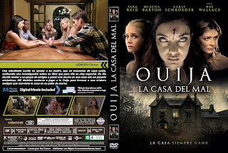 CARATULAOUIJA LA CASA DEL MAL - OUIJA HOUSE - 2018