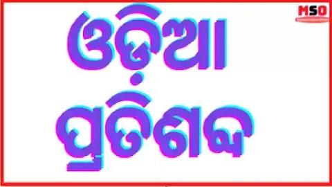 Pratisabda in Odia || Pratisabda Odia Grammar