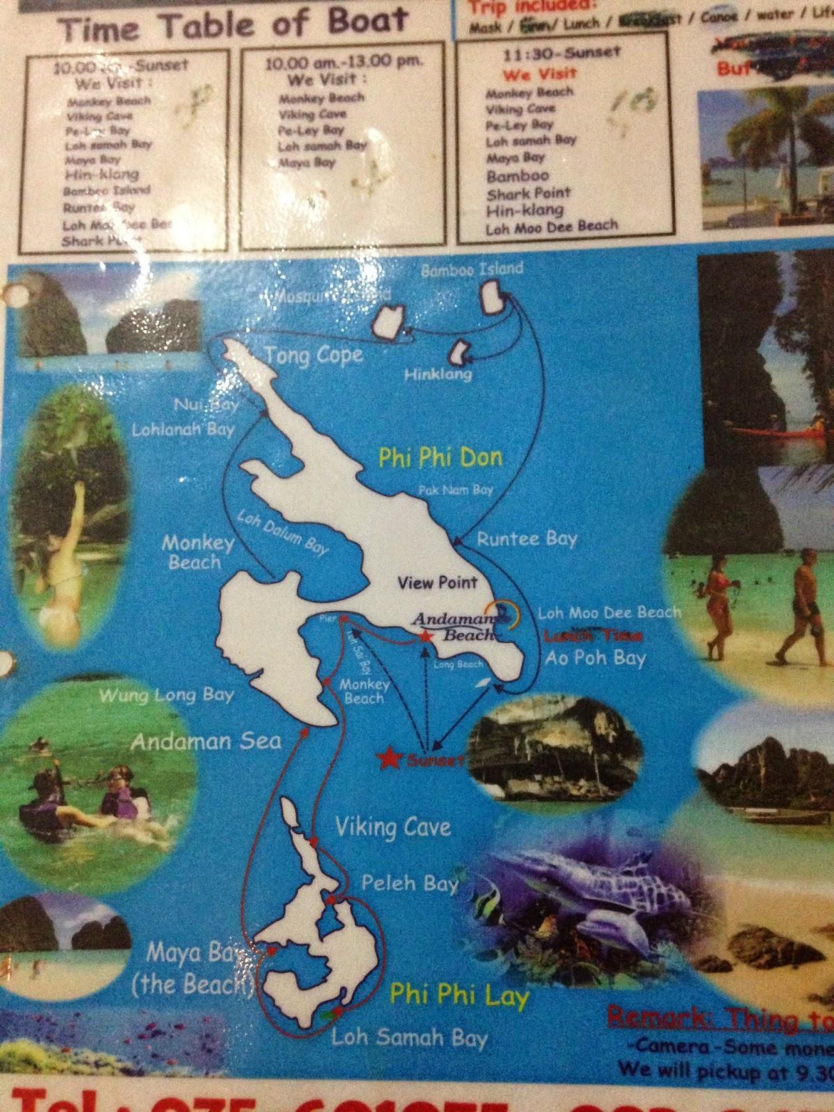 Passeio de Barco Maya Bay
