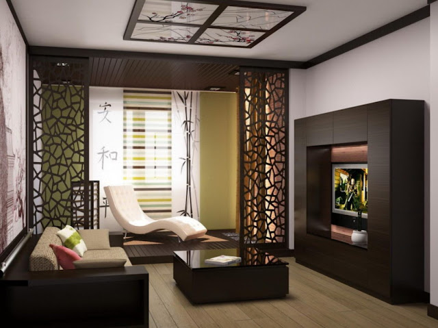 modern Living Room Divider Design Ideas