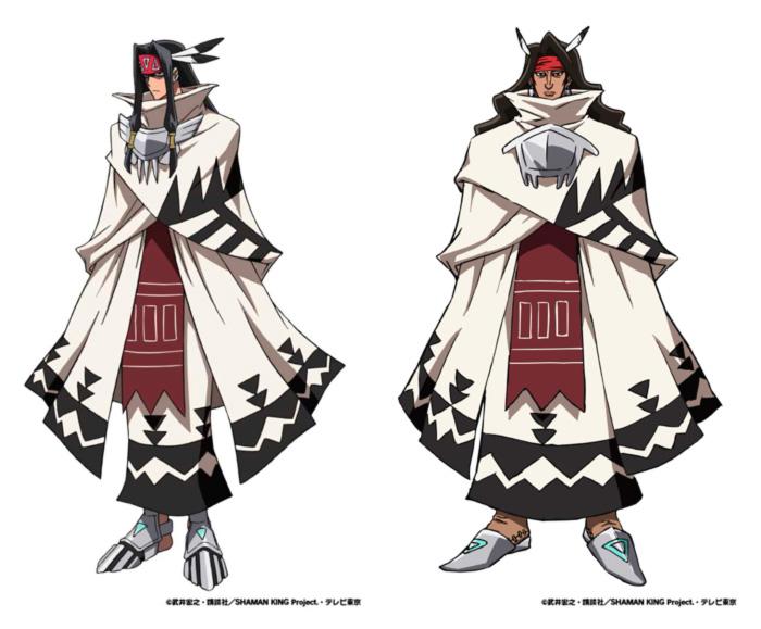 Shaman King anime 2021 - personajes