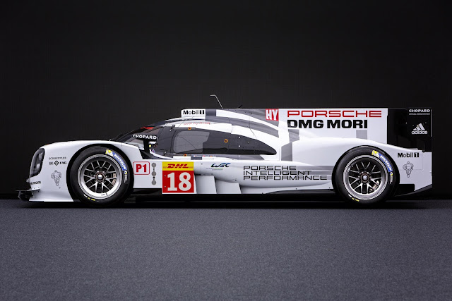Porsche 919 Hybrid, Mobil Tecepat Jarak 1/4 Mil