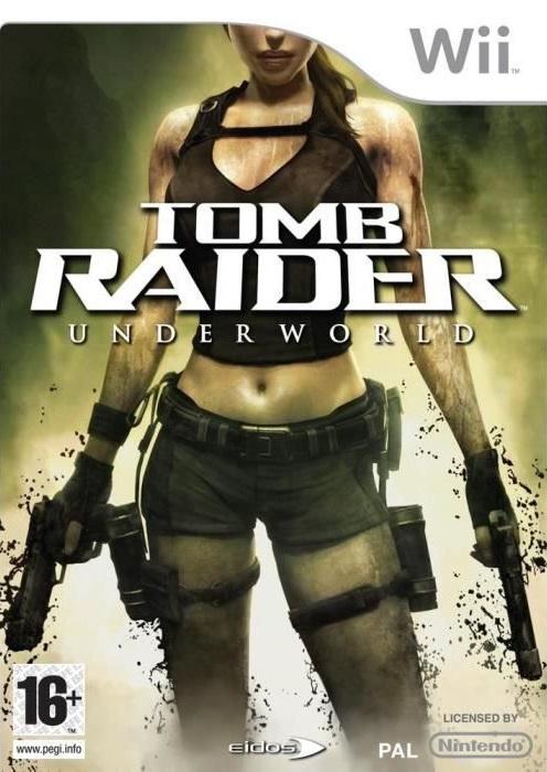 [WII] [NTSC] Tomb Raider: Underworld