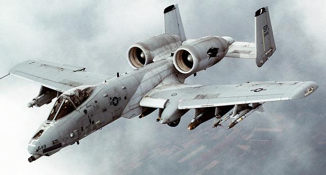 A-10 Thunderbold, dikenal juga dengan nama Warthog
