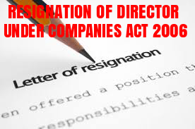 Resignation-Director-Companies-Act-2006