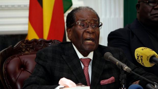 BREAKING: World's oldest leader, Robert Mugabe finally resigns