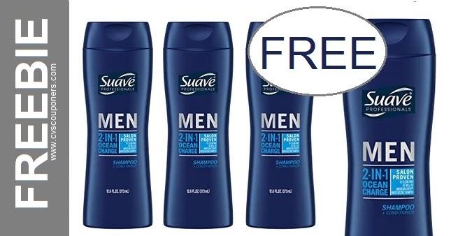 FREE Suave Men's Shampoo CVS Deals