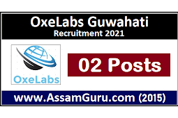 OxeLabs Guwahati Recruitment 2021 | 2 Web Application Developer Posts