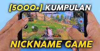 Nickname game
