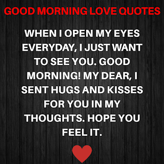 Good Morning Love Quotes