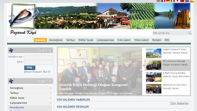 Ücretsiz Php Köy,Dernek Scripti V1 Full İndir+Yandisk