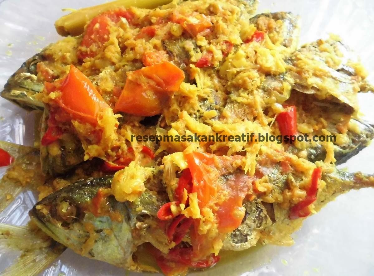 resep ikan bumbu kuning sederhana aneka resep masakan sederhana kreatif Resepi Ikan Tenggiri Stim Enak dan Mudah