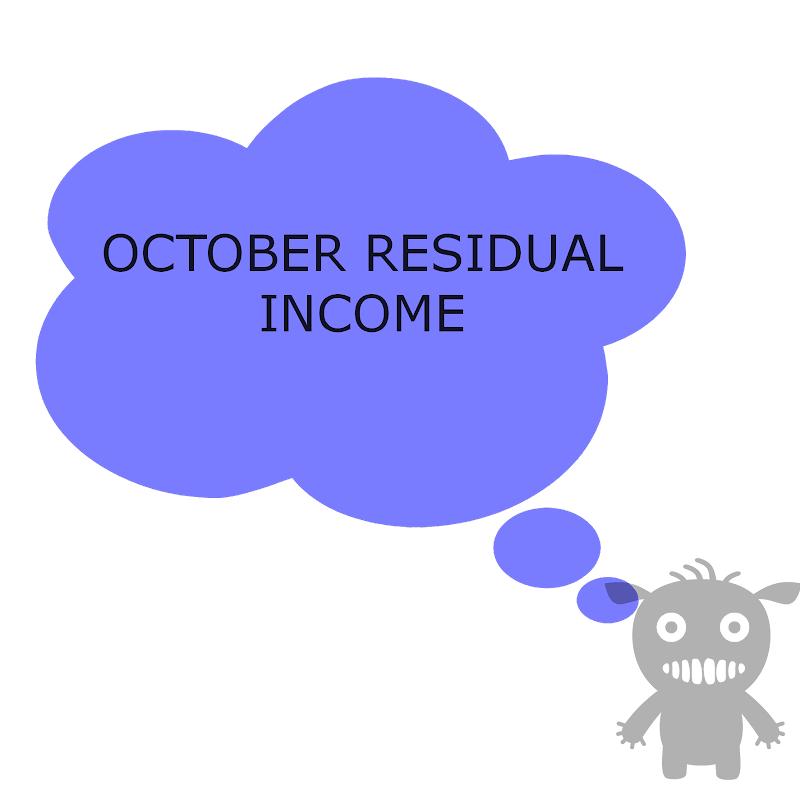 October Residual Income