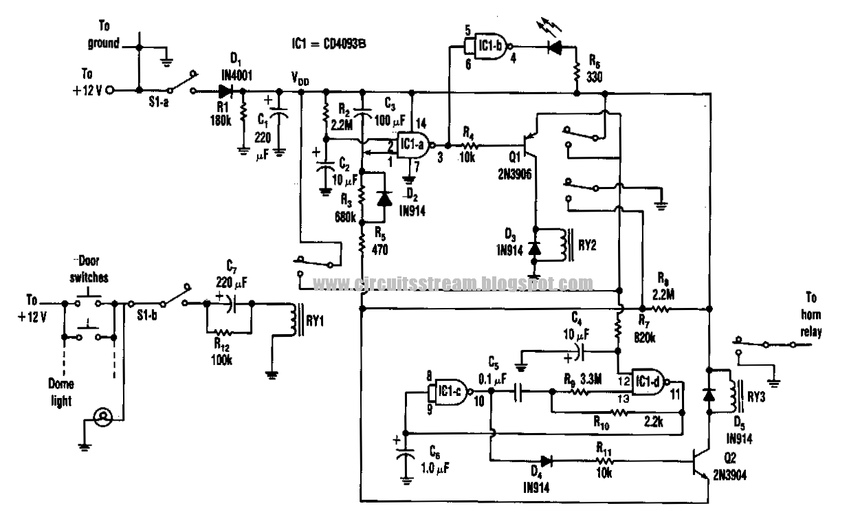 Build a semiconductor failure alarm circuit diagram semiconductor failure alarm circuit diagram pooptronica Images