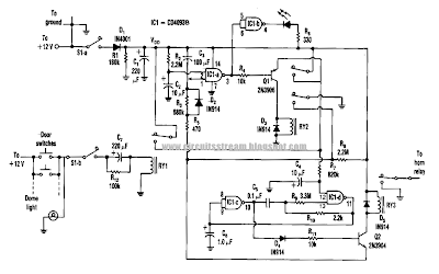 Build a Semiconductor Failure Alarm Circuit Diagram
