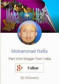 Follow Me in Google+