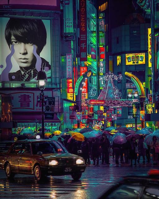 Liam Wong:  Tokyo Nights