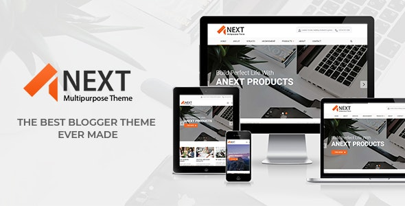 Anext - Responsive Multipurpose Blogger Theme