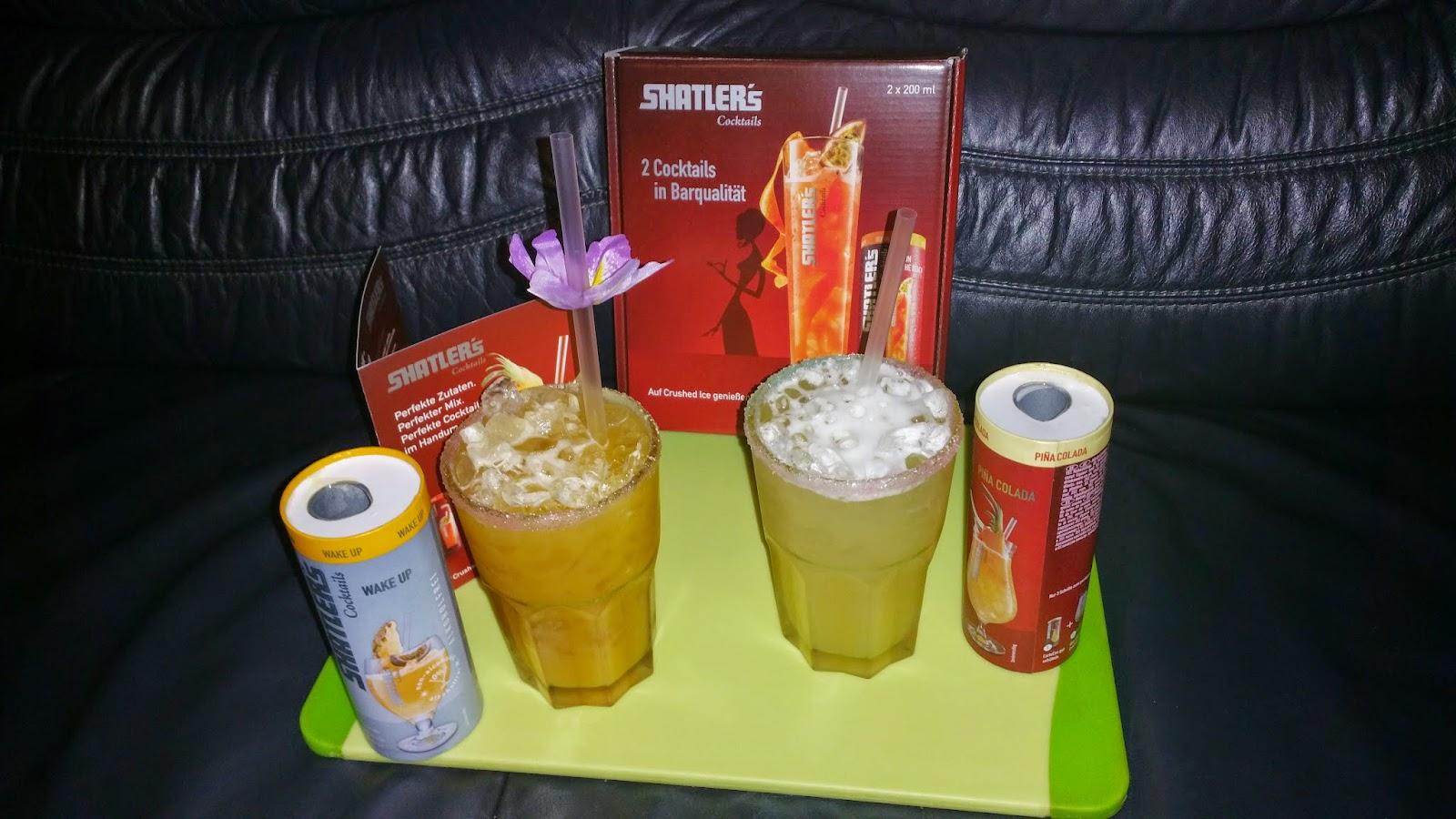 Cocktails im Glas